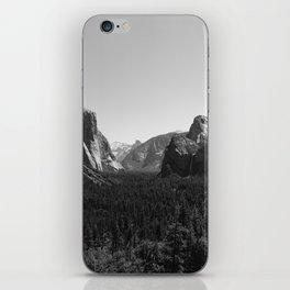 Tunnel View, Yosemite National Park III iPhone Skin