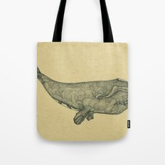 Northern Right Whale Tote Bag