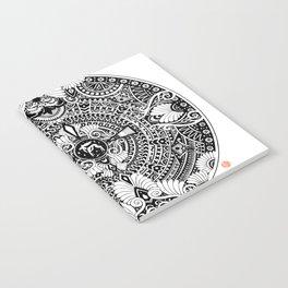 deer mandala Notebook