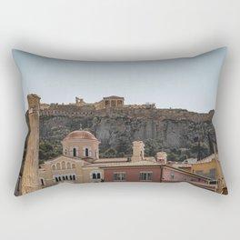 Acropolis, Athens, Greece Rectangular Pillow