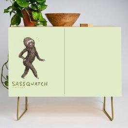 Sassquatch Credenza