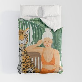 Jungle Vacay Comforters