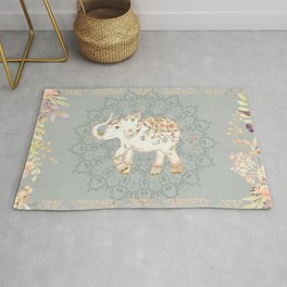 INDIAN ELEPHANT Rug