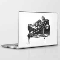 sneakers Laptop & iPad Skins featuring sneakers by Cardula