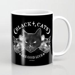 Black Cats are Good Luck Coffee Mug