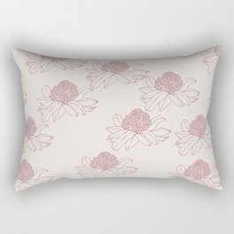 Australian Waratah Rectangular Pillow