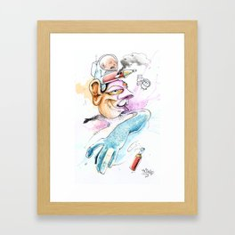 La Magia (The Magic) Framed Art Print