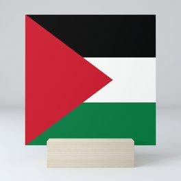 Flag of Palestine Mini Art Print