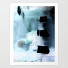 When Polar Bears Dream Art Print
