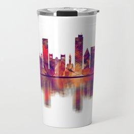 Alicante Spain Skyline Travel Mug