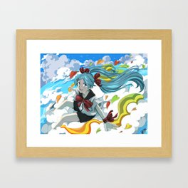 Sekiranun Grafitti Framed Art Print