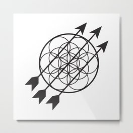 Soler Illuminations Logo  Metal Print