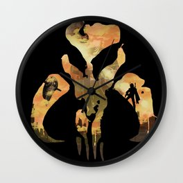 Legend of The Bounty Hunter Wall Clock