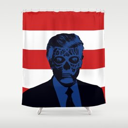 Trump Lives Shower Curtain
