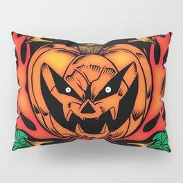 Halloween Trick or Treat Biker Design Pillow Sham