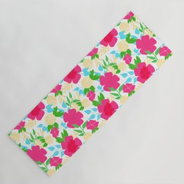 03 Pattern of Flowers Yoga Mat