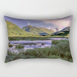 Crested Butte Sunrise Rectangular Pillow
