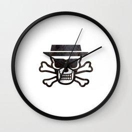 Heisenskull Wall Clock
