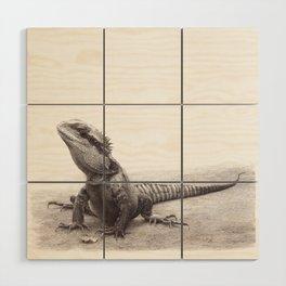 Spike the Waterdragon Wood Wall Art