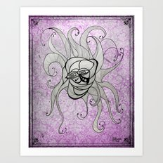 Luz's Toronto Spaghetti Monster Art Print