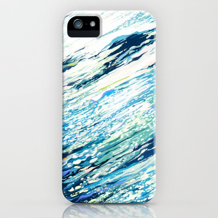 Silent Blue iPhone Case