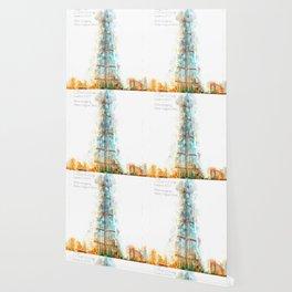 Burj Khalifa, Dubai, Aquarell Wallpaper