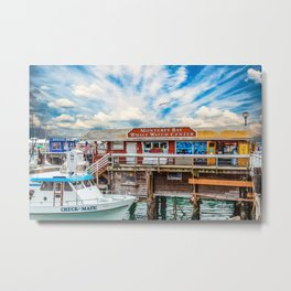 Monterey Bay Whale Watching Center Metal Print