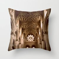 england Throw Pillows featuring Oxford, England by David Hohmann