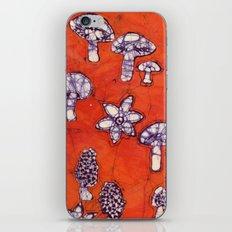 mushroom batik iPhone & iPod Skin