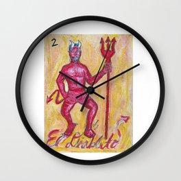 El Diablito by Riendo Wall Clock