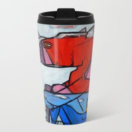 Contemplating Collective Consciousness by Amos Duggan 2013 Metal Travel Mug