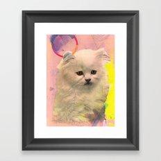 *meooooowmix* Framed Art Print