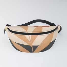 Abstract Minimal -Plant 8 Fanny Pack