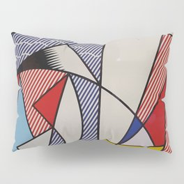 A vectorised Lichtenstein Pillow Sham