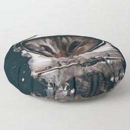 Space catet Floor Pillow