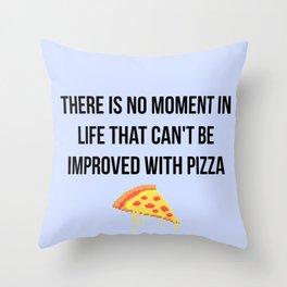 Daria - Pizza Throw Pillow