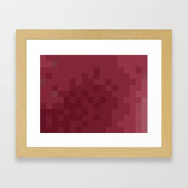 ABSTRACT PIXELS #0003 Framed Art Print