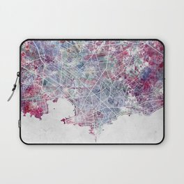 Montevideo Map Laptop Sleeve