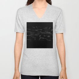 Mathspace - High Math Inspiration Unisex V-Neck