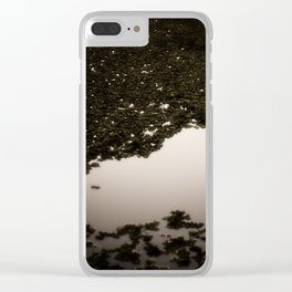Swamp Ghosts Clear iPhone Case