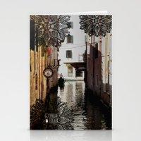 venice Stationery Cards featuring Venice by Caroline Fogaça