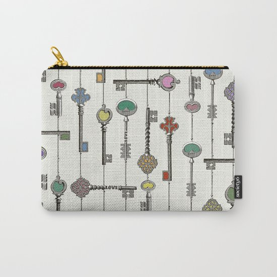 Love is the Key Carry-All Pouch