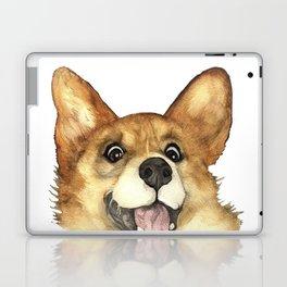 CORGI CRAZY Laptop & iPad Skin