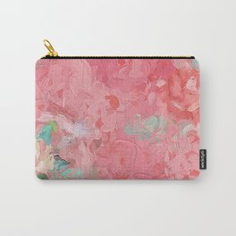 Painted Roses Carry-All Pouch