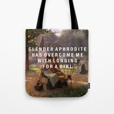 slender aphrodite Tote Bag