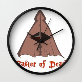 Master of death Wall Clock