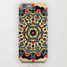 Flower and Fruit Collage Mandala iPhone 6s Slim Case
