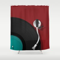 dj Shower Curtains featuring DJ by Rceeh
