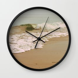 Ocean Waves on the Beach Wall Clock