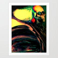 Hell Is Calling! Art Print
